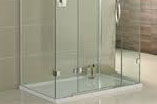 Shower screens and mirrors